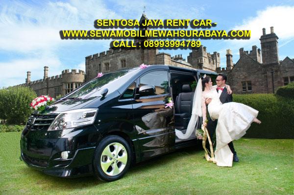 Alphard Black Untuk Wedding Surabaya