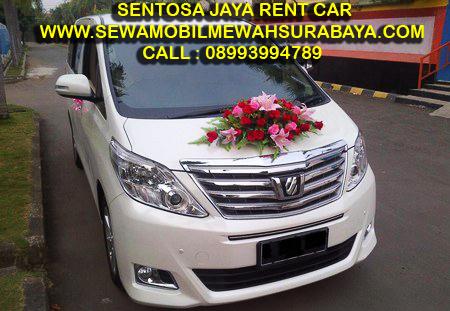 Rental Alphard White Surabaya 2013/2014