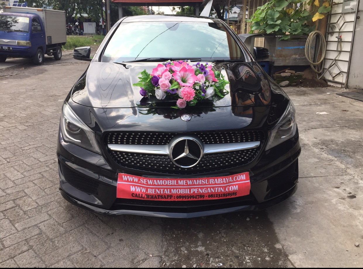 rental mercy cla200 surabaya